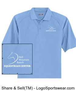 ADULT - Mens - Short Sleeve Polo Design Zoom